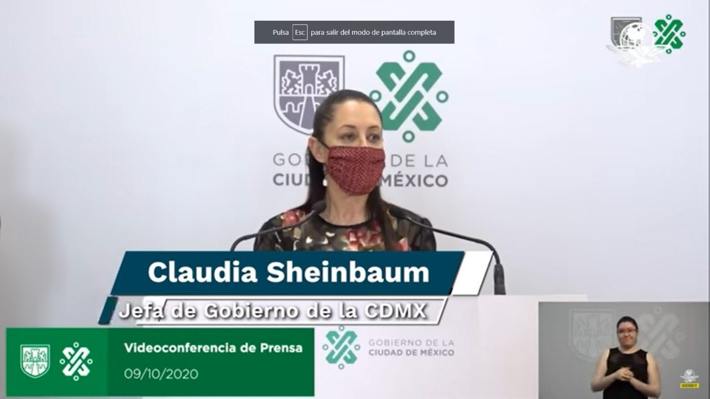 CDMX no cambia a semáforo epidemiológico amarillo y se mantiene en naranja